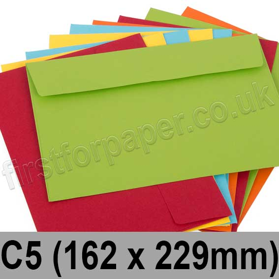 Calypso Colour Envelopes C5 (162 x 229mm)