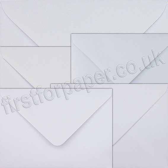 Premium, Gummed White Greetings Card Envelopes