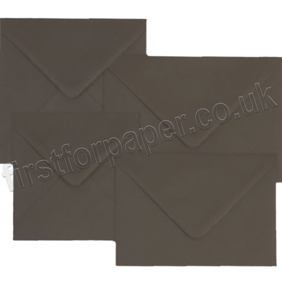 Spectrum Black Gummed Envelopes