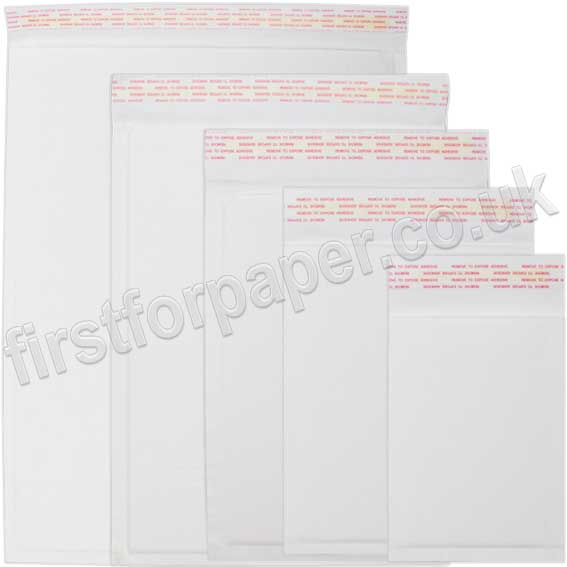 EzePack White Corrugated Envelope