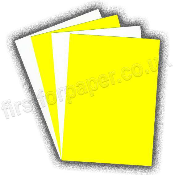 Fluorescent Card, 255gsm, Yellow