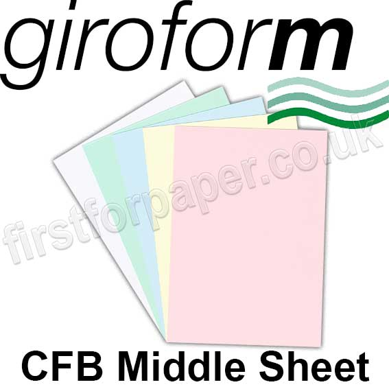 Giroform, CFB Middle Sheet