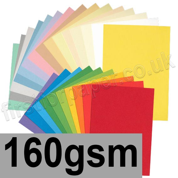 Rapid Colour Card, 160gsm