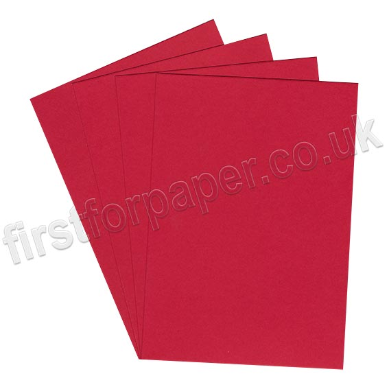 Rapid Colour Paper, 120gsm, Blood Red