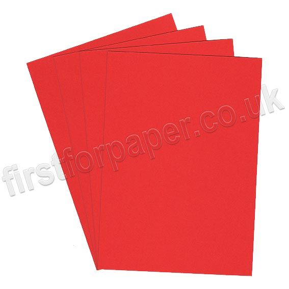 Rapid Colour Paper, 120gsm, Robin Red