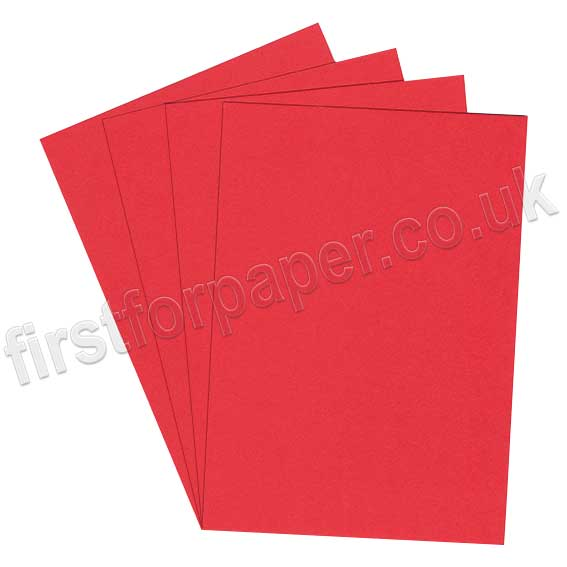 Rapid Colour Paper, 120gsm, Rouge Red