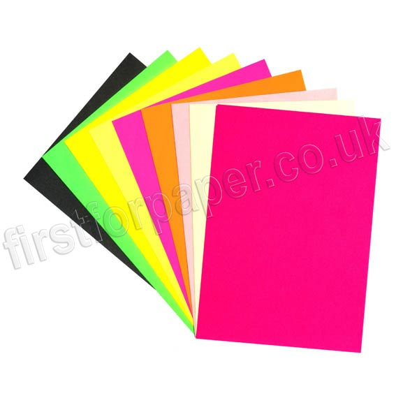 Coloured, Self Adhesive Paper