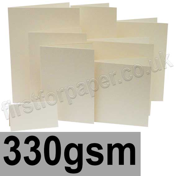 Advocate Smooth, Pre-Creased Cards, 330gsm, Natural White
