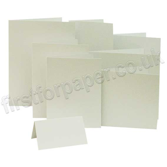 Colorset Recycled, 270gsm, Pre-Creased, Single Fold Cards, Natural