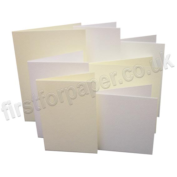 Cumulus Felt Marked, Pre-Creased, Single Fold Cards