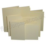 Hammer Texture, Pre-Creased, Single Fold Cards, Cream