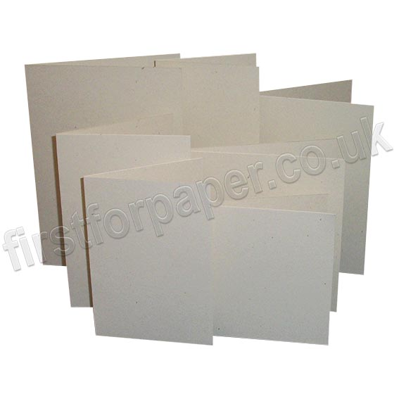 Harrier Speckled, Pre-Creased, Single Fold Cards, Ivory