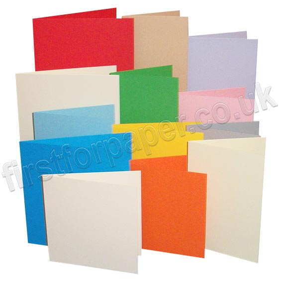 Rapid Colour, Pre-Creased, Single Fold Cards