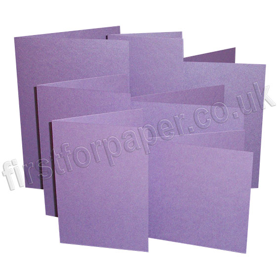 Stardream, Pre-Creased, Single Fold Cards, Amethyst