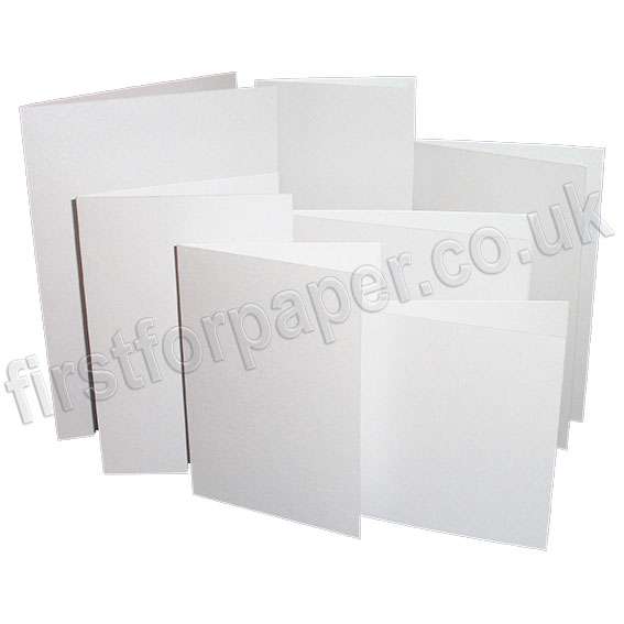 Stardream, Pre-Creased, Single Fold Cards, Crystal White