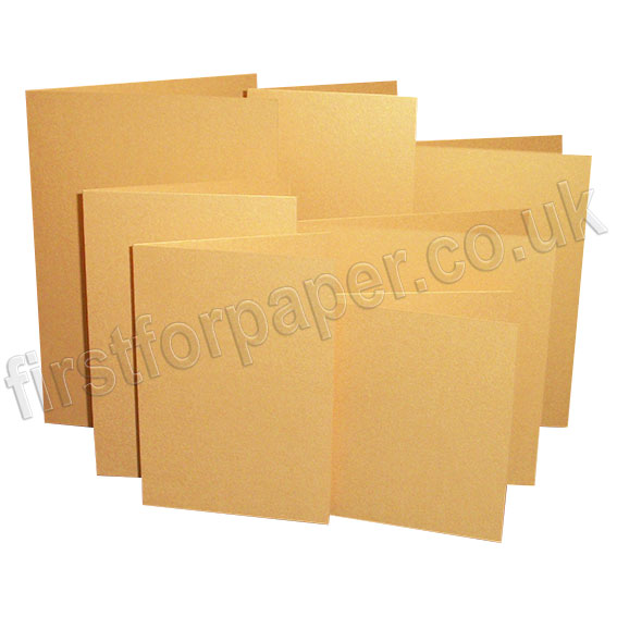 Stardream, Pre-Creased, Single Fold Cards, Gold
