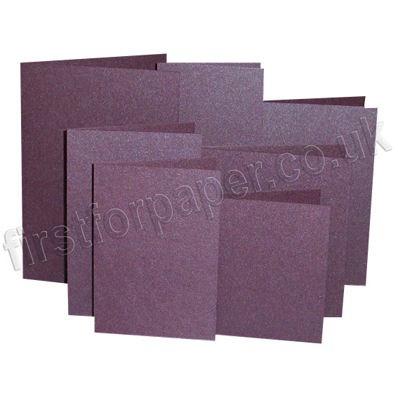 Stardream, Pre-Creased, Single Fold Cards, Ruby