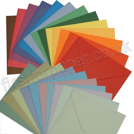 Spectrum Tinted Gummed Envelopes
