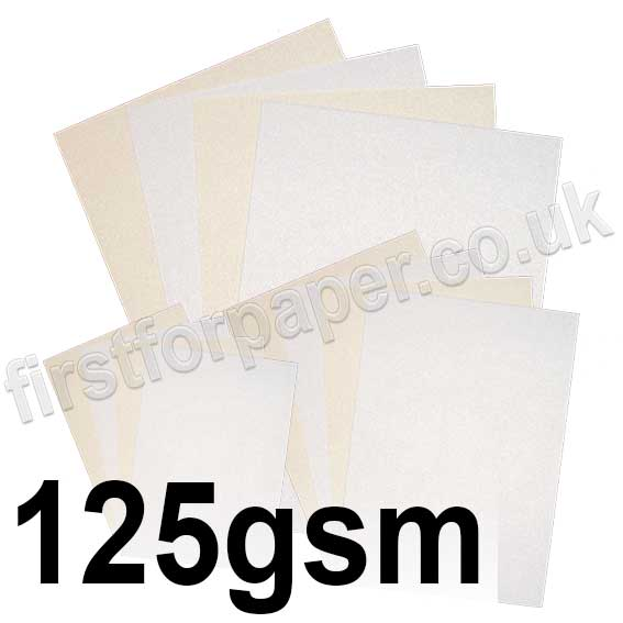 Stargazer Pearlescent Paper, 125gsm