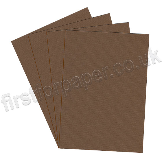 Strata, Grained Texture Card, 220gsm, Brown