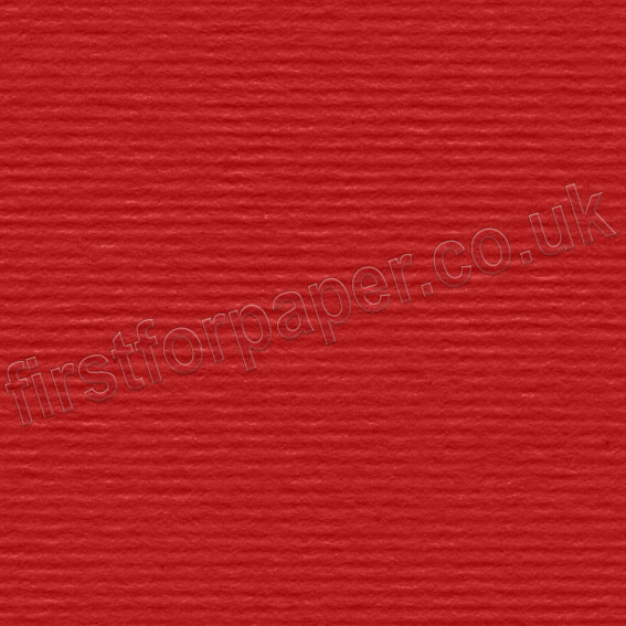 Strata, Grained Texture Card, 220gsm, Crimson