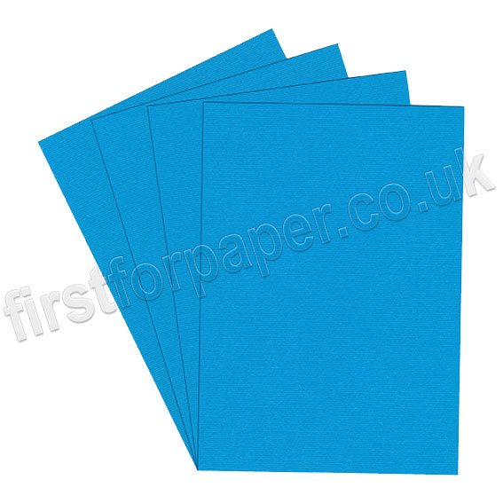 Strata, Grained Texture Card, 220gsm, Mid Blue