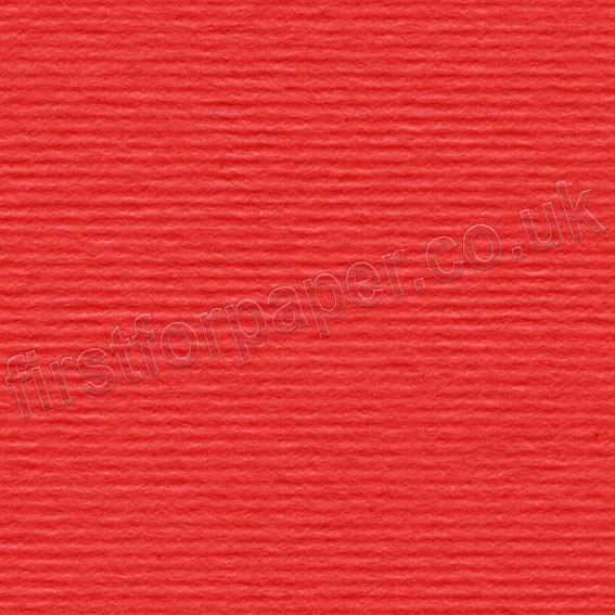 Strata, Grained Texture Card, 220gsm, Red