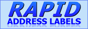 Rapid Address Labels