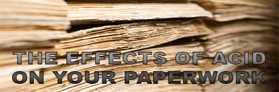 Acid and Lignin Free Paper and Card - Why Use It?