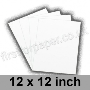 Swift White Paper, 100gsm, 305 x 305mm (12 x 12 inch)