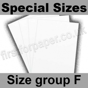 Swift White Card, 250gsm, Special Sizes, (Size Group F)