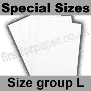 Swift White Paper, 100gsm, Special Sizes, (Size Group L)