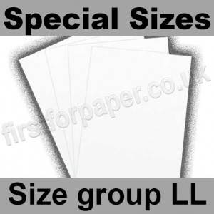 Swift White Card, 210gsm, Special Sizes, (Size Group LL)
