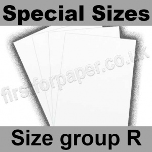 Swift White Card, 180gsm, Special Sizes, (Size Group R)