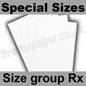 Swift White Card, 250gsm, Special Sizes, (Size Group Rx)