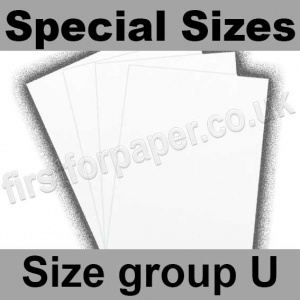 Swift White Card, 350gsm, Special Sizes, (Size Group U)