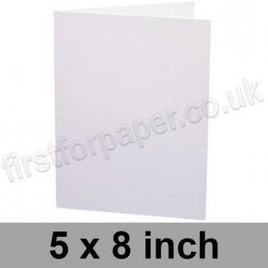 Advocate Smooth, Pre-creased, Single Fold Cards, 330gsm, 127 x 203mm (5 x 8 inch), Xtreme White