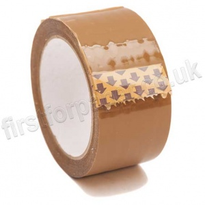 Buff Polypropylene Acrylic Packaging Tape, 48mm x 66m