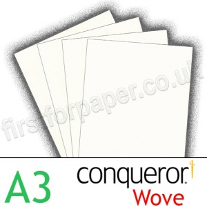 Conqueror Smooth Wove, 120gsm, A3, High White