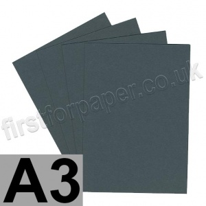 Colorset Recycled Card, 350gsm,  A3, Dark Grey