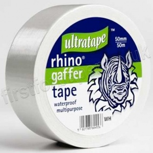 Cloth Tape, White Heavy Duty, 50mm X 50m