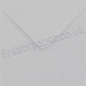 Colorset Gummed Envelopes, 155mm Square, Ash - 250 Envelopes