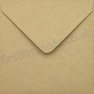 Fleck Kraft Recycled Envelope, 130 x 130mm