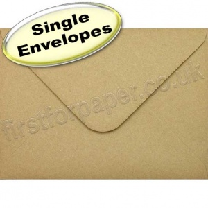 Fleck Kraft Recycled Envelope, 133 x 184mm