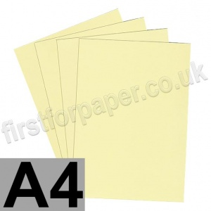 Rapid Colour Paper, 120gsm,  A4, Bunting Yellow