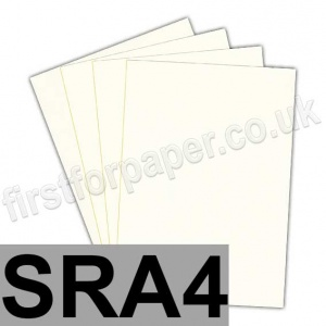 Rapid Colour Paper, 120gsm, SRA4, Smooth Ivory
