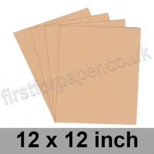 Rapid Colour Card, 160gsm, 305 x 305mm (12 x 12 inch), Lapwing Brown