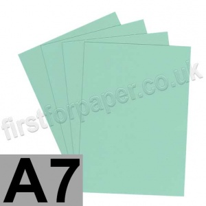 Rapid Colour Card, 160gsm, A7, Lark Green