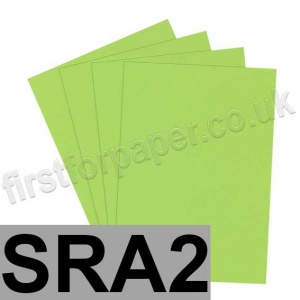 Rapid Colour Card, 160gsm, SRA2, Lime Green