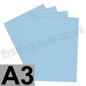 Rapid Colour Card, 160gsm,  A3, Merlin Blue